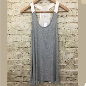 LOU & GREY Knit Scoop Neck Racer Back Tank Top